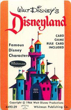 Whitman #Disneyland card game #1964