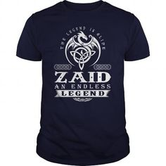 The Legend Is Alive ZAID An Endless Legend T-Shirts & Hoodies