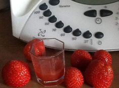 thumbnail image 1 Kitchen Queen, Thermomix Desserts, Yummy Smoothies, Cocktails, Drinks, Cooking Timer, Strawberry, Appetizers, Food And Drink