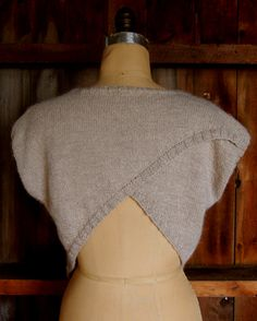 Short Row Sweater - the purl bee