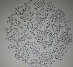 . Islamic Art Pattern, Pattern Art, Oriental, Pottery Painting Designs, Persian Motifs, Fashion Design For Kids, Turkish Art, Embroidery Patterns, Border Embroidery