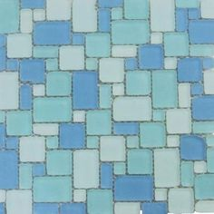 Splashback Tile Ocean Wave French Pattern Beached 12 in. x 12 in. x 8 mm Frosted Glass Mosaic Tile-OCNWVEFRCPATFRST - The Home Depot