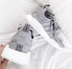 big sale 73002 6db24 c h e m a i n e e e Adidas Shoes Women Nmd, Adidas Grey Shoes, Adidas Nmd  Outfit, Cute Addidas