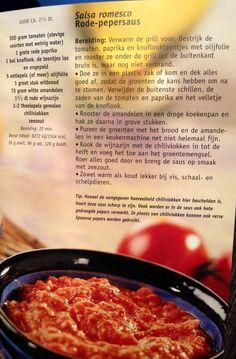 Salsa romesco, rode pepersaus