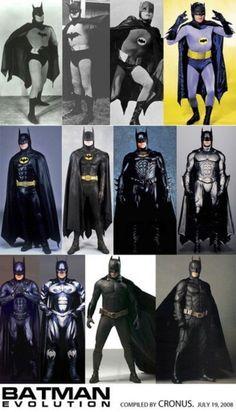 Die Evolution des Batman on http://www.drlima.net