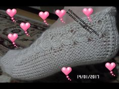 beş şiş patik yapılışı - YouTube Tunisian Crochet, Crochet Stitches, Hobbies And Crafts, Diy And Crafts, Knitting Videos, Baby Boots, Mo S, Crochet Slippers, Knitting Socks
