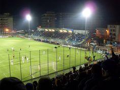 Stadio Comunale Matusa. Frosinone Calcio vs. Modena FC 0-0 (23.3.2010). Serie B.