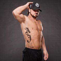 AJ Styles Never tire of this hot wrestler Aj Styles Wwe, Aj Styles Tattoo, Best Wrestlers, Wwe Tna, Wwe World, Professional Wrestling, Wwe Superstars, Wearing Black, Gorgeous Men