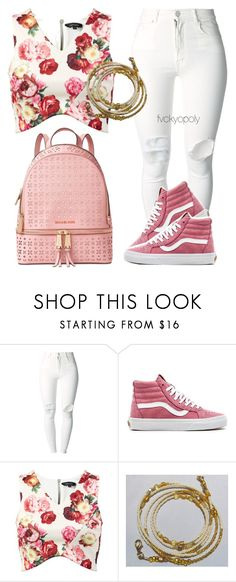 """Untitled #364"" by fvckyopoly ❤ liked on Polyvore featuring (+) PEOPLE, Vans and Michael Kors"