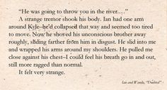 The Host ~ Ian and Wanda Quote