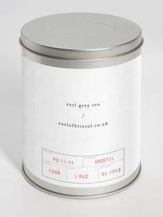 "Visual identity for a fictive company ""Earl/Grey"" by Jonathan Faust"