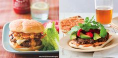 A Tale Of Two Sriracha Burgers Summer's not quite over, and if you're breaking out the BBQ this weekend, here are a few of my f...
