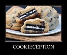 A cookie, within a cookie.