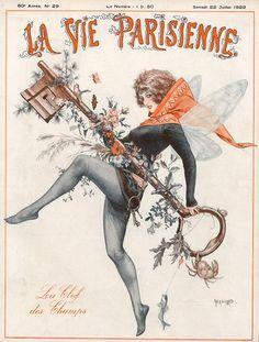 La Vie Parisienne, 1922 ~ Chéri Hérouard