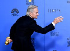 Michael Douglas at the Golden Globes 2019 Golden Globe Award, Golden Globes, Fictional Characters, Fantasy Characters