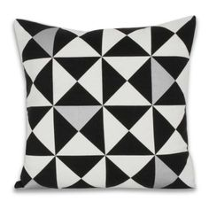 Origami Pillow   Metallic Silver   Shape Up In Sophisticated Silver!