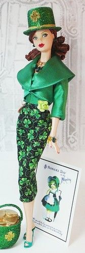 Hmmm. i wonder who i know who has an irish barbie doll... katy?