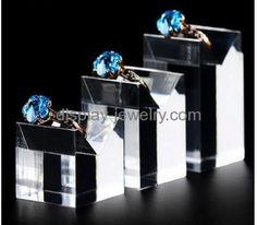 Customized acrylic plastic display jewellry displays retail display stands RDJ-033