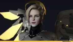 Mercy (Overwatch),Overwatch,Blizzard,Blizzard Entertainment,фэндомы,sulhwa hong