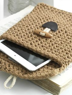 gratis Haakpatroon Tablet Sleeve