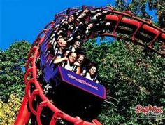 Tennessee Tornado at Dollywood is one awesome roller coaster! I'm not a big country fan, but Dollywood is great fun. Best Amusement Parks, Amusement Park Rides, Great Places, Places To Go, Wonderful Places, Beautiful Places, Pigeon Forge Attractions, Carnival Rides, Parks