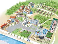 하늘눈 가람리조트 안내도 조감도 펜션지도 펜션안내도 배치도 테마지도 관광지도 안내지도 그림지도 루트맵 3d Drawings, City Photo, Infographic, Landscape, Infographics, Scenery, Corner Landscaping, Visual Schedules