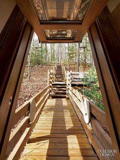 A Force Of Nature Nancy Copleys Iconic Upstate New York Residence Pivot DoorsInterior Design