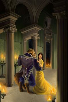 bearinglight deviantart | By Joshua Wilson - Beauty and the Beast | Joshua Wilson art | Pintere ...