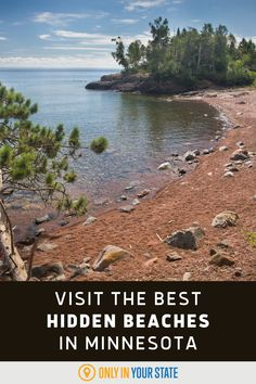 Visit the best and most beautiful hidden and lesser-known beaches in Minnesota. They're perfect for family-friendly summer fun, minus the crowds. Summer Travel, Summer Fun, Best Bucket List, Hidden Beach, Swimming Holes, Natural Wonders, Abandoned Places, State Parks, Minnesota