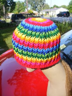 "Basic Hat Pattern: Basic Hat Pattern Version 101 ""Rattails"""