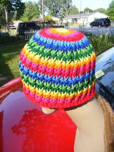 "Basic Hat Pattern: Basic Hat Pattern Version 101 ""Rattails"""