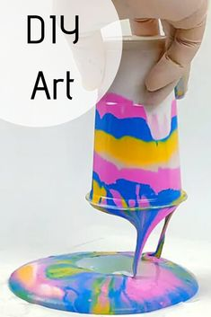 Get the kids away from the screens and encourage them to get creative in the count down to the new school year. Here are some fun and easy art projects for children aged 3 and above. Tape Art, Easy Art Projects, Diy Store, Using Acrylic Paint, Doily Patterns, New School Year, Simple Art, Art Tips, Beautiful Patterns