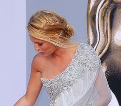 blake lively updo | Morning Obsession: Blake Lively's Braided Bafta Updo (So Pretty ...
