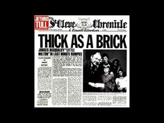 Thick as a Brick - Jethro Tull [1972] | Progressive Rock (Download Link)