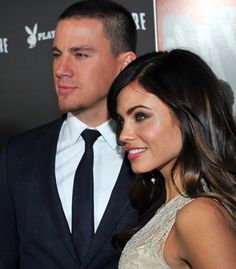 Channing Tatum + Jenna Dewan-Tatum= Jenna is the luckiest bitch alive and they're such a cute couple !! Made for each other !!