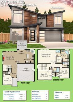 plan 80840pm multi level modern house plan pinterest modern