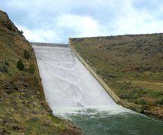Rudy Dam Spillway Rehabilitation, not a slip-n-slide.