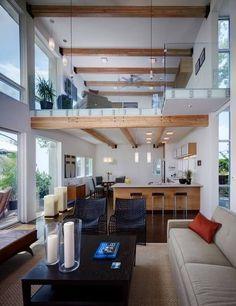 Lofts decorados de 2 andares