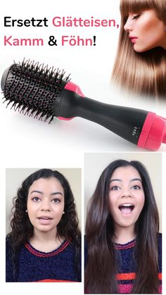 The hairstyler replaces flat irons, combs and hairdryers - Trend Platinum Hair Makeup 2019 Diy Beauty, Beauty Hacks, Best Handbags, Grunge Hair, Hair Dryer, Diy Hairstyles, Hair Pins, Most Beautiful Pictures, Women