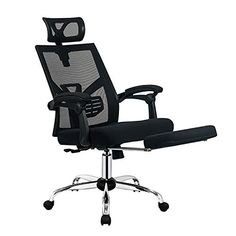 BestMassage Office Chair High Back Recliner Office Chair Racing Style Chair Game Chair Mesh Computer Reclining Office Chair, Ergonomic Office Chair, Swivel Chair, Cheap Desk Chairs, Cool Chairs, Home Office Chairs, Office Furniture, Office Desk, Reading Nook Chair