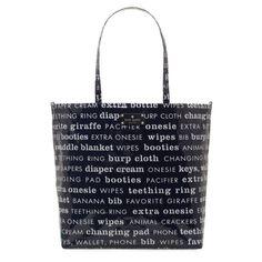 kate spade | designer diaper bags - daycation bon shopper baby bag