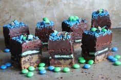Slutty Superbowl Brownies