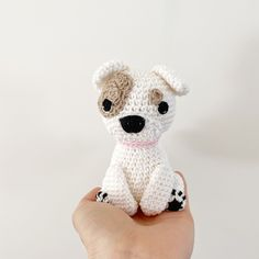 Made to Order PITT BULL crochet amigurumi All Toys, Toy Sale, Jelly Beans, Hand Sewing, Dog Lovers, Pitbulls, Teddy Bear, Puppies, Crochet