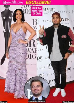 Chris Brown 'Stunned' & 'Hurt' To See Rihanna Still Getting Cozy With Leonardo DiCaprio