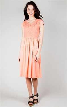 This dress is adorable!! And, it is modest!!!