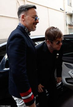 All is well! Elton John, 70, used his screening for his film competition The Cut at the 70...