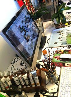 RUBIJUAREZ: Workspace Turntable, Art, Studio, Art Background, Record Player, Kunst, Performing Arts, Art Education Resources, Artworks