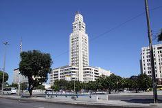 Torre do relógio da Estação Central do Brasil