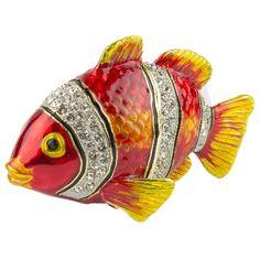 NA 55556 - Portagioie Pesce pagliaccio - L 8,5 cm