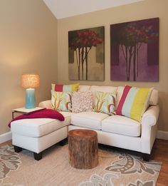 Homes Under 700 sq feet - contemporary - living room - boston - Mandeville Canyon Design